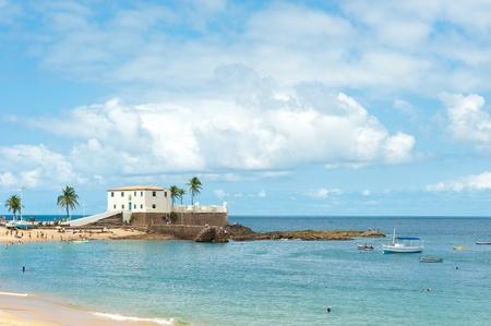 brazil beach: Porto da Barra beach, Salvador - Bahia - Brazil