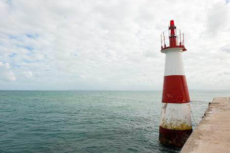 os: Ponta de Humaita Lighthouse in the baia de todos os santos