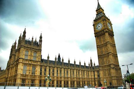 bigben: Picture of London Parliament, big ben Stock Photo