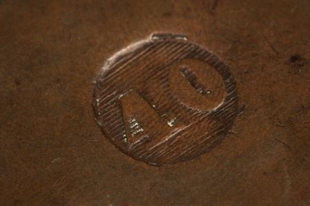depreciation: Brazilian old coin Background .