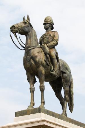 King Rama V Equestrian Monument  photo