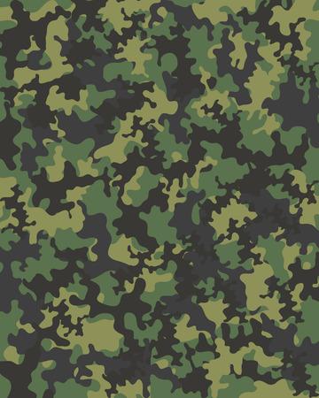 Seamless pattern of camouflage, vector illustration Illustration