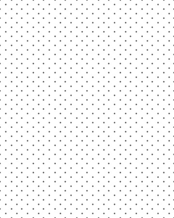 Seamless avec des points noirs sur un fond blanc