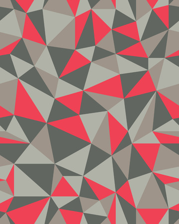 Abstract seamless triangle pattern, vector