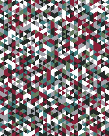 Seamless triangular pattern background, creative design templates Imagens - 110958406