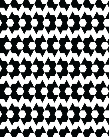 Seamless  monochrome  geometric  patterns, design for packaging, print, covers, cards, wrapping, fabric, paper, interior etc Illustration