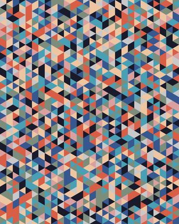Seamless triangular pattern background, creative design templates