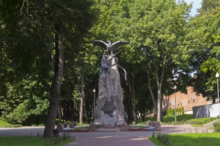 Monument to heroes of 1812 in Smolensk. Russia