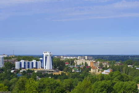 Panorama of Smolensk, Russia