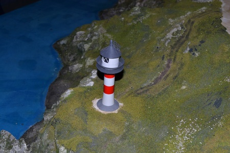 Model of lighthouse