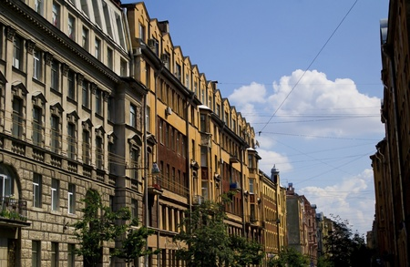 street of Saint-Petersburg, Russia