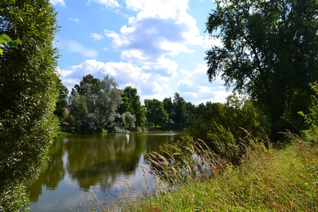 pond in voeikovo Stock Photo - 11570942