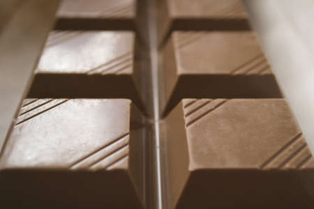 bar of milk chocolate Stock Photo