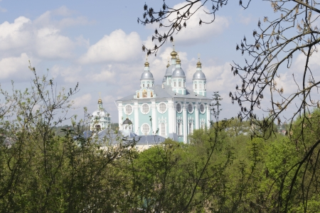 assumption: Cathedral of the Blessed virgin Marys Assumption in Smolensk, Russia