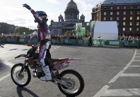 springboard: Motofreestyle-show en el festival de las innovaciones y el deporte