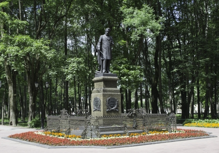 Monument to Glinka in Smolensk, Russia