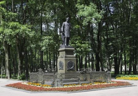 Monument to Glinka in Smolensk, Russia Stock Photo - 15735044