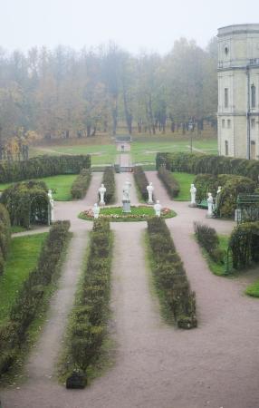 Own garden near Gatchina palace, Russia Stock Photo - 18080118
