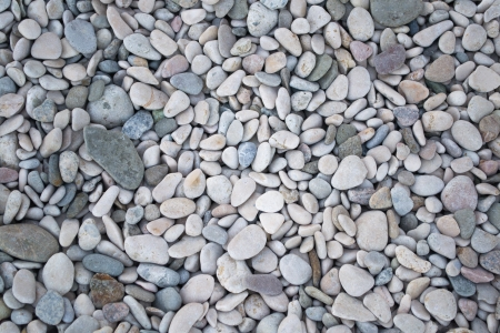 pebbles on the seashore  Stock Photo