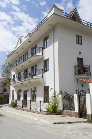 House in Lazarevskoye district, Sochi, Russia Editorial