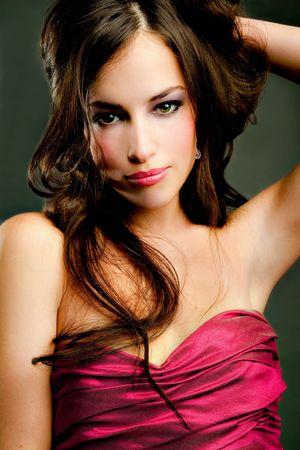 young brunette woman portrait Stock Photo - 6197746