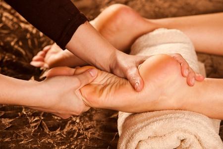 foot massage technique Stock Photo - 13385555