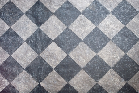 floor tiles: tiled floor in black and gray background