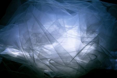 tulle: fantasy  tulle background, studio shot