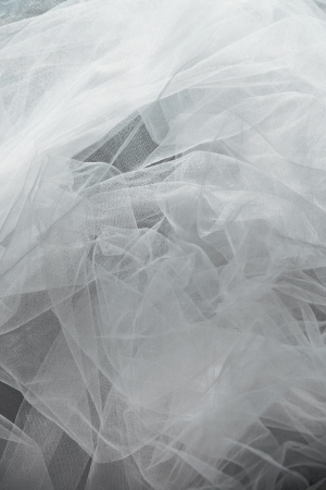 tulle: tulle fantasy background in white color Stock Photo
