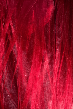 abstract shiny tulle fabric studio shot photo