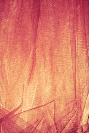 tulle: abstract shiny tulle fabric studio shot Stock Photo