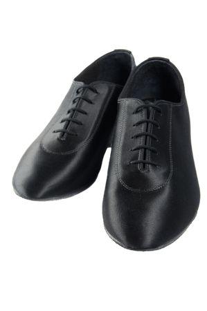 Men ballroom latin dancing sateen shoes