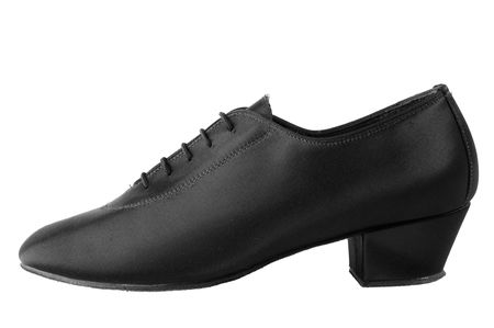 Men ballroom latin dancing sateen shoe Stock Photo