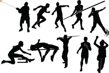 athletics collection - vector Stock Vector - 5118761