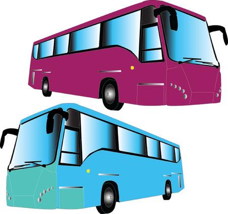 autobus - vector Stock Vector - 5118752
