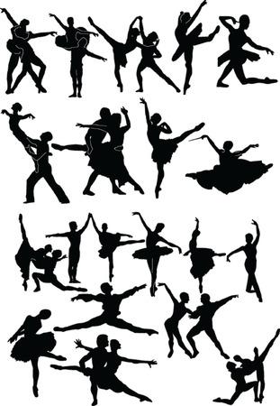 ballets collection - vector Vector