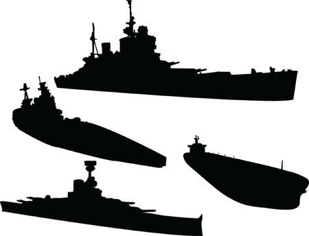 ships collection Stock Vector - 5127891
