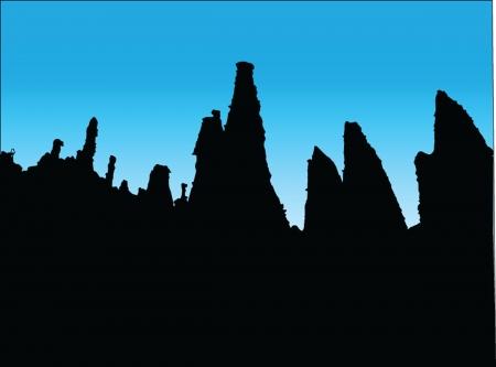 amazing mountain - vector Vector