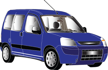 sports utility vehicle - vector Vector