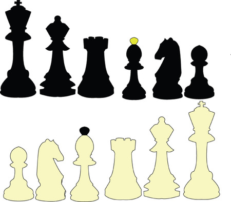 chess collection - vector