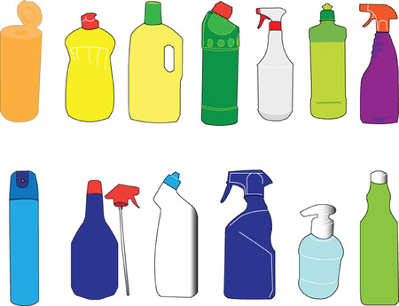 packaging bottle collection Stock Vector - 5275286