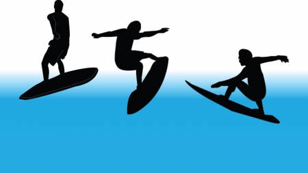 surfing collection Vector