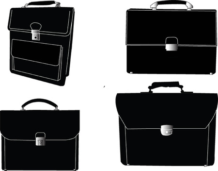 business suitcase Vector