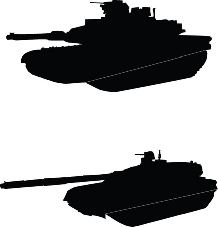 battle tank: Tanques - vector