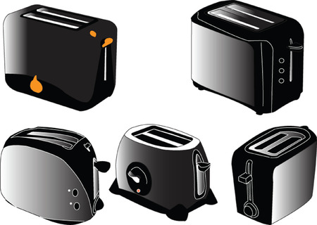 toaster collection Stock Vector - 5275302