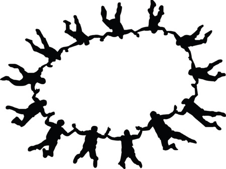 fallschirmj�ger: Fallschirmspringer-Auflistung - Vektor  Illustration