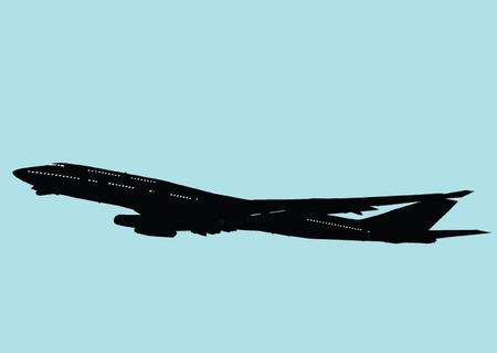 jumbo:  jumbo jet illustration