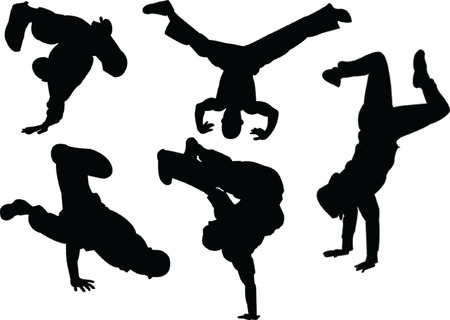 break dance Stock Vector - 6139049