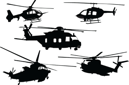 military helicopter: helicopter collection