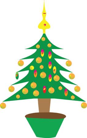 christmas tree Stock Vector - 6139103